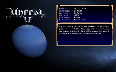Unreal Tournament 2 - Alleria by DeusIX