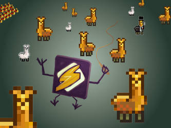 Winamp, it really whips the llama's ass! by DeusIX