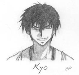 Demon Eyes Kyo Fanart by Mai-Shouri
