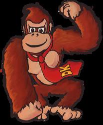 DK...Donkey Kong! by FiRE-MUNki
