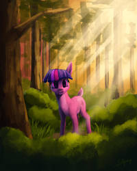Deer Princess Twilight by LolliponyBrony