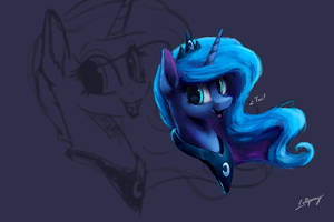 Luna Sketch by LolliponyBrony