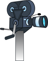 Old hand-crank camcorder (MLP style) by Evilbob0