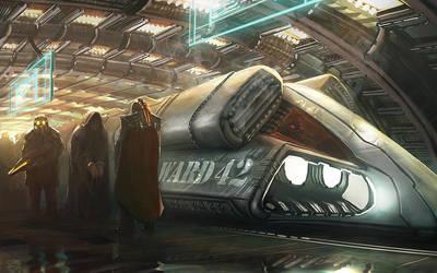 Prisoner Transport by whatzitoya