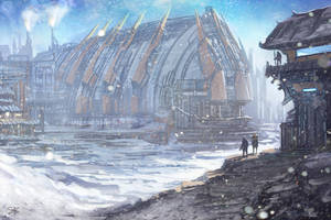Russian Outpost by whatzitoya