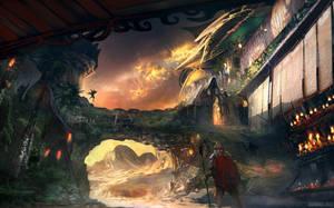 Forgotten Village by whatzitoya