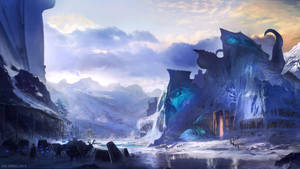 Icy Outpost by whatzitoya
