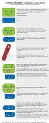 About Erasers - A tutorial? by Sakairu