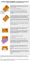 About Dirty Erasers by Sakairu