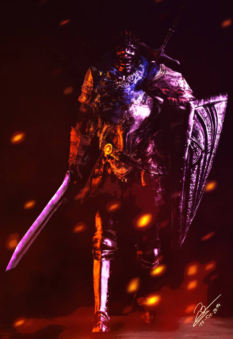 Nameless Knight by KalekronReborn