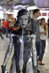 Mass Effect: EDI cosplay by SirDomPayne