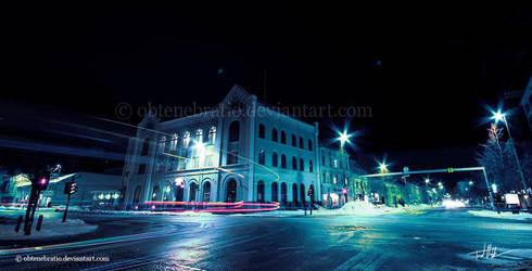 Downtown by Obtenebratio