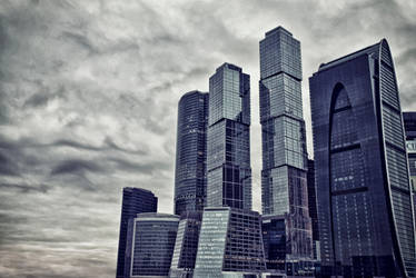 moscow city by xLeONx