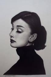 Audrey Hepburn by Kentcharm