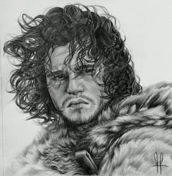 Jon Snow (Game of Thrones) by Kentcharm