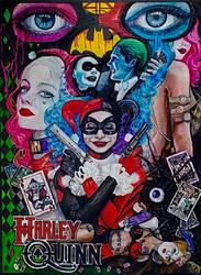 Harley Quinn JF by Kentcharm