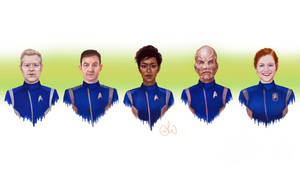 Star Trek Discovery by ImperfectSoul