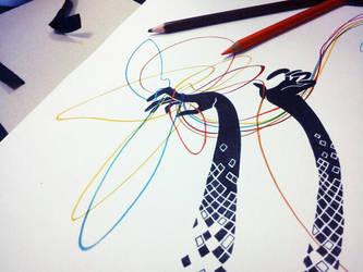 Hands sketch by anniecarter