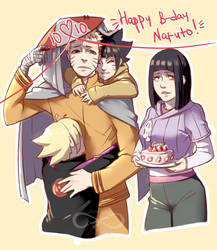 HAPPY B-day Naruto by Shiro-Naruto