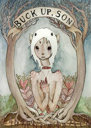 Buck Up Son by DarlingDeerest