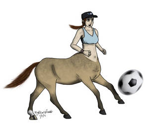 Centaur Soccer by NightCur