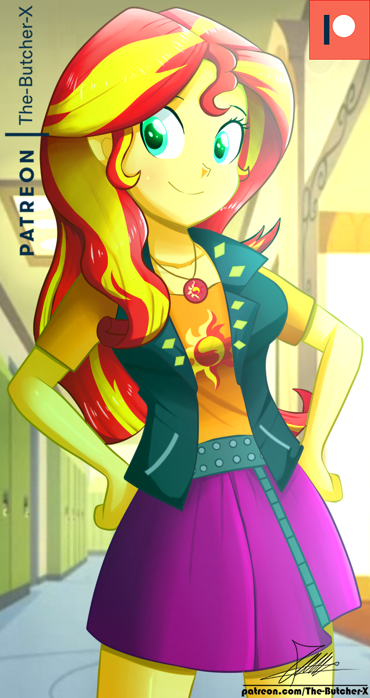 .:New Sunset:. (Patreon Commission HD) by The-Butcher-X