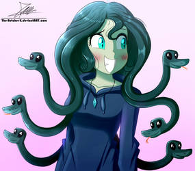 .:Medusa:. (OC Gift) by The-Butcher-X