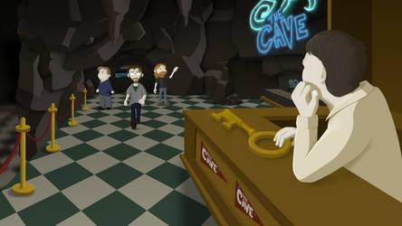 Ronzo's Cave by CheesenessTheGreat