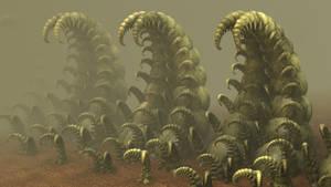 Monsters of Fractal X: Creepy Larvae by hypex2772