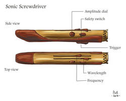 Alternative Sonic Screwdriver by Daigohji