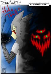 FanArt #1 Halotroll Memecenter by Bloodlust-Teddy