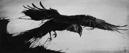 The Crow by TwilightSadist