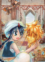 90th ACEO 'Treasure Room' by Hime-chama