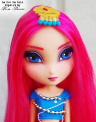 Bollywood Bright - La Dee Da doll Repaint by PixiePaints