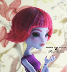Sea Monster CAM - Monster High Repaint by PixiePaints