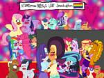 MLP EqG LGBT Smooch-athon by kTd1993