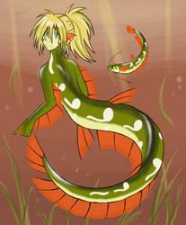 + Ordon Catfish + Background by Kanti-Kane