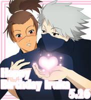 Iruka's B-Day-Heart by Mockingbyrd