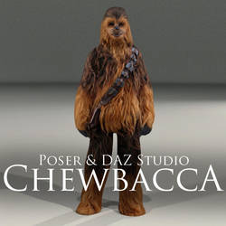 Chewbacca by adamthwaites