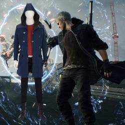 Devil May Cry 5 Nero high quality cosplay costume  by manluyunxicosplay007
