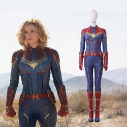 Captain Marvel Carol Danvers cosplay costume Marve by manluyunxicosplay007