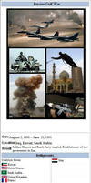 Persian Gulf War by 33k7