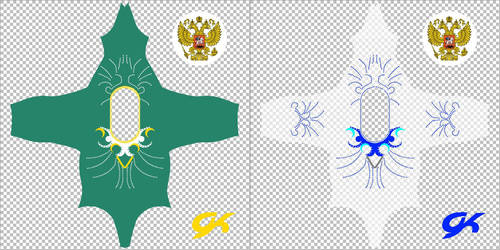 Gymnastics team Russia 2010 and 2018 1 Tex 08 by sadathekunkun