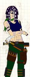 Delilah Shepherd (Colored) by konamicode1999