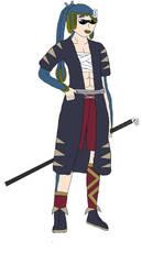 Ayano Fujin (Colored) by konamicode1999