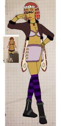 Mia Terois (Redesign) by konamicode1999