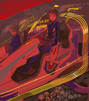 Evangelion 3.0 by kohiu