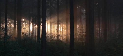 Rays of light by GaiusNefarious