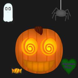 Happy Halloween Everyone~ by HalloweenMew