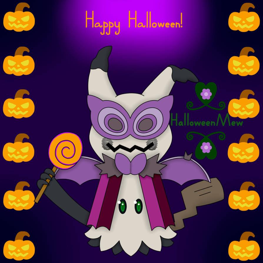 Happy Halloween! by HalloweenMew